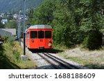 Mountain Train On The Mont...