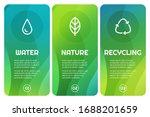 vector abstract banner design...   Shutterstock .eps vector #1688201659
