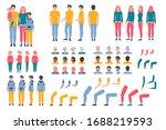 constructor animation kit... | Shutterstock .eps vector #1688219593