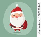 vector illustration of cute... | Shutterstock .eps vector #1688223460
