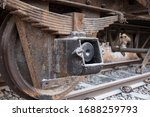 The Very Old Train Wheel And...
