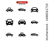 car icon or logo isolated sign... | Shutterstock .eps vector #1688261710