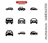 car icon or logo isolated sign... | Shutterstock .eps vector #1688262550