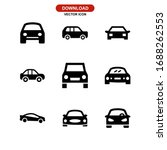 car icon or logo isolated sign... | Shutterstock .eps vector #1688262553