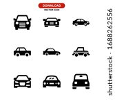 car icon or logo isolated sign... | Shutterstock .eps vector #1688262556