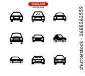 car icon or logo isolated sign... | Shutterstock .eps vector #1688262559