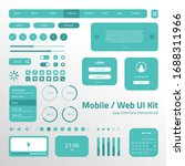 ui ux kit for mobile app and...