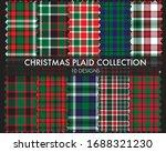 christmas plaid  tartan... | Shutterstock .eps vector #1688321230