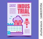 industrial waste  save world... | Shutterstock .eps vector #1688339356