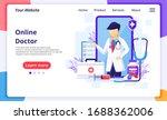online doctor concept  online...   Shutterstock .eps vector #1688362006