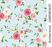 vector seamless pattern with... | Shutterstock .eps vector #1688383603