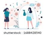 quarantine failure concept.... | Shutterstock .eps vector #1688428540