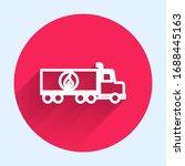 white line tanker truck icon... | Shutterstock .eps vector #1688445163