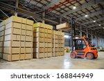 Warehousing Of Wooden Slabs