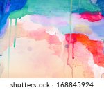 Abstract bright painting background