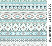 mayan american indian pattern... | Shutterstock .eps vector #1688471500