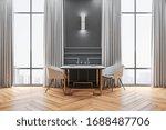 Luxury Cafe Interior With...