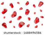 Falling Pomegranate Grains...