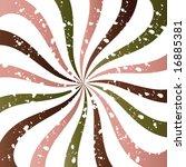 snowy pink green brown swirl... | Shutterstock . vector #16885381