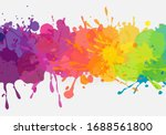 bright colorful banner. vector... | Shutterstock .eps vector #1688561800