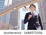 A Dashing Japanese Businessman...