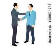 flat style people men... | Shutterstock .eps vector #1688574373
