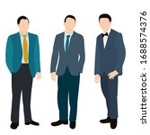isolated  flat style people... | Shutterstock .eps vector #1688574376