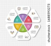 vector infographic template... | Shutterstock .eps vector #1688593273
