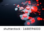 data visualization of the...   Shutterstock . vector #1688596033