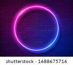 futuristic sci fi modern neon... | Shutterstock .eps vector #1688675716