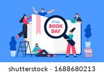 illustration of a happy world...   Shutterstock .eps vector #1688680213