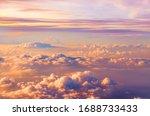 Beautiful Saturated Sunset Sky...