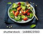 Close Up Of Vegetarian Slalad...