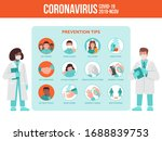 two medics  doctor and nurse... | Shutterstock .eps vector #1688839753