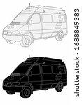 isolated illustration of... | Shutterstock .eps vector #1688849383