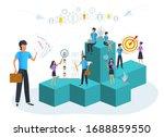 vector illustration ... | Shutterstock .eps vector #1688859550
