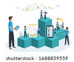 vector illustration  business... | Shutterstock .eps vector #1688859559
