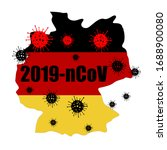 coronavirus in germany. the... | Shutterstock .eps vector #1688900080