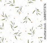 nature terrazzo mosaic and...   Shutterstock .eps vector #1688937376