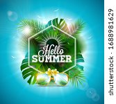 Hello Summer Illustration With...