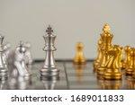 chess. strategy ideas planning...   Shutterstock . vector #1689011833