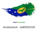 flag of christmas island in... | Shutterstock .eps vector #1689201520