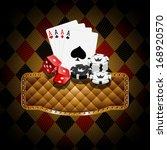 casino banners  | Shutterstock .eps vector #168920570