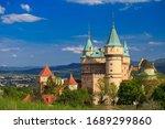 Spring View Of Bojnice Castle...
