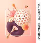 3d rendering abstract scene... | Shutterstock .eps vector #1689305746