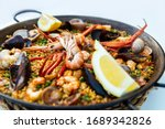 Very Tasty Seafood Paella In...