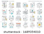 law dictionary related  color... | Shutterstock .eps vector #1689354010