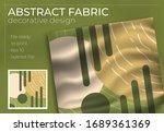 abstract silk scarf creative... | Shutterstock .eps vector #1689361369