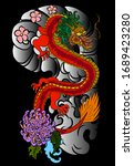 traditional chinese dragon for... | Shutterstock .eps vector #1689423280