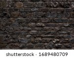 aged grungy coarse stonework... | Shutterstock . vector #1689480709
